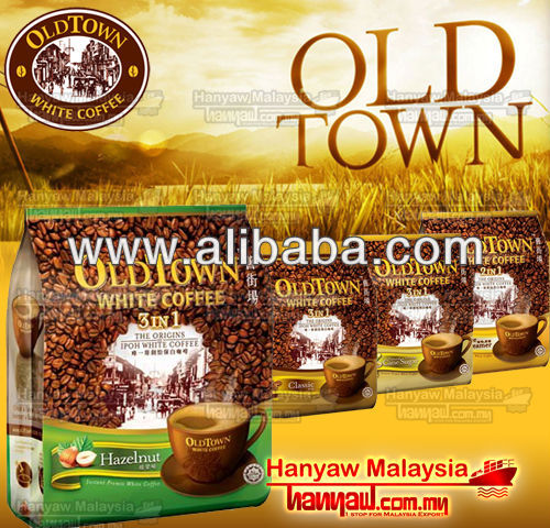 old town white coffee hazelnut sachet