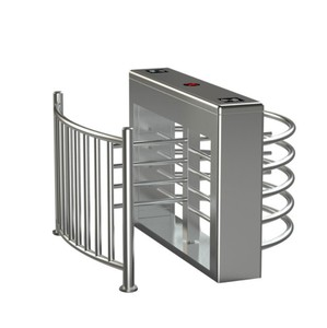 Crowd Control Safety Waist Height Turnstile price Children's Security Barrier