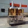 beer brewing equipment micro brewery 1hl, 2h, 3hl 5hl, 10hl 1t per batch