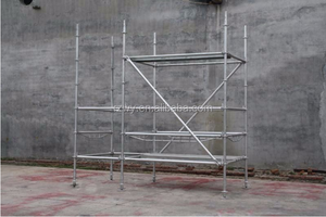 High Quality Long Lifespan Construction All Round Scaffold System
