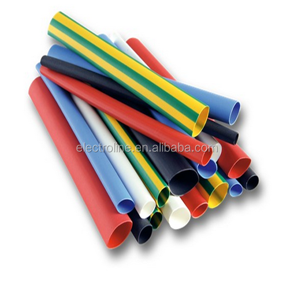 Top Quality Full Color 2:1 Ratio PE Material Heat Shrinkable Tube Kit