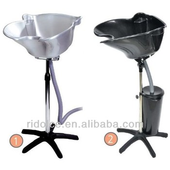 Portable shampoo basin with bucket hair wash equipment for Beauty salon furniture suppliers