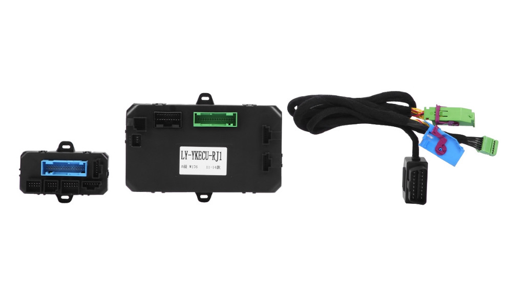 GPS Car Alarm, GPS+GSM Car Alarm & Tracking System With Remote Engine Start Fit For Mercedes Benz GLK X204