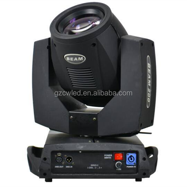 China DMX 5R Sharpy Beam 5R 200W Wash Lights Stage Lighting China Low Cost