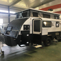15 inch off road hybraid caravan with slideout
