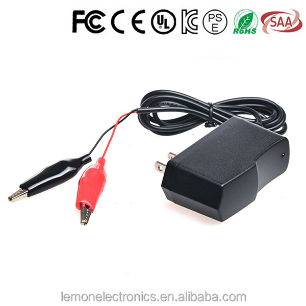 China cheap 12v 1a battery charger lead acid