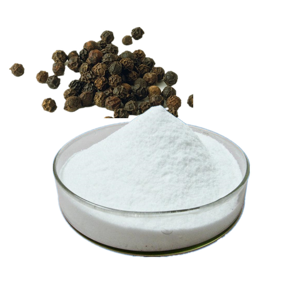 Pure natural 95% bulk piperine extract powder