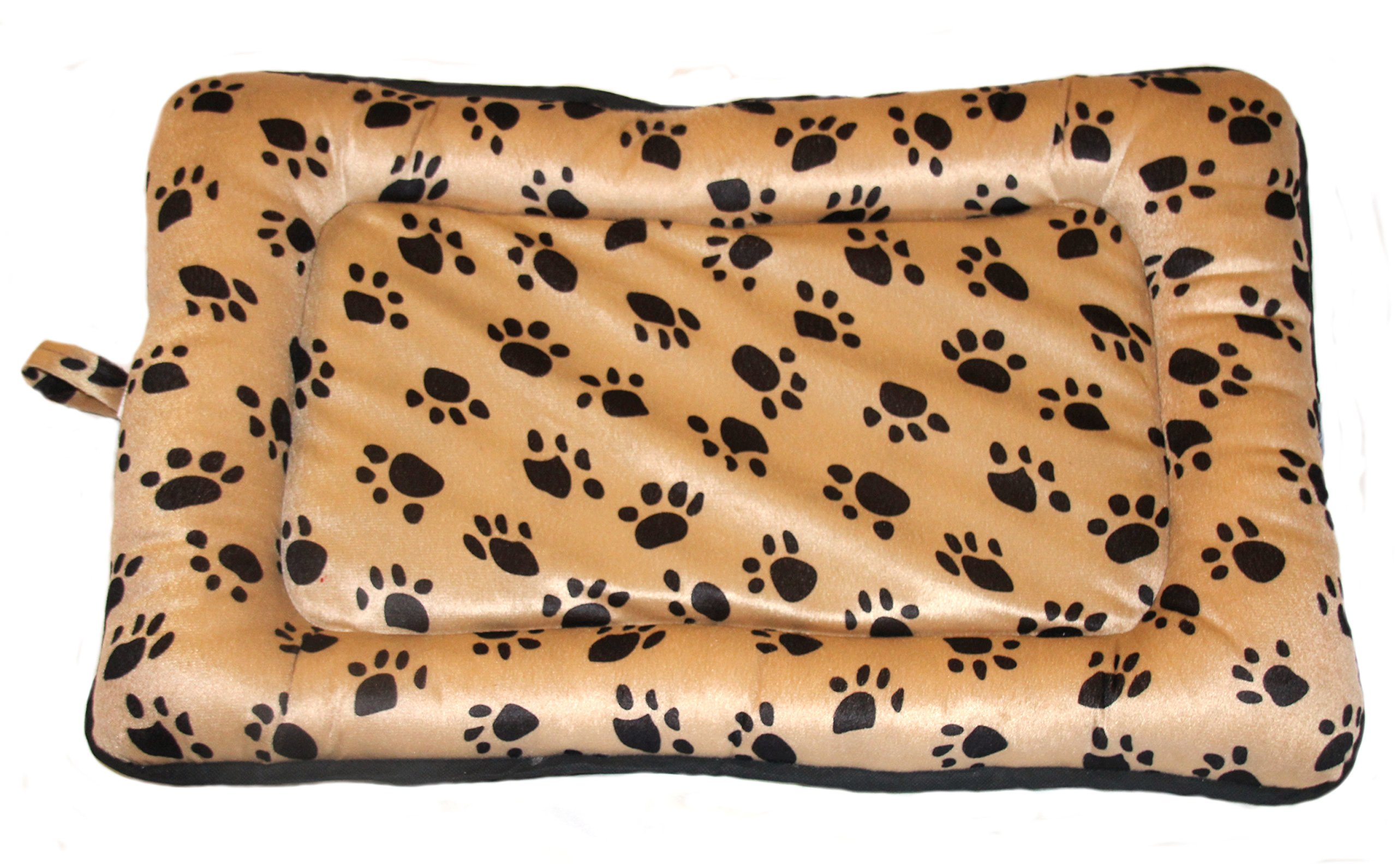 Premiere Brands Pet Bed Crate Pads by Soft Comfortable Top - Tough Water-Resistant Polyester Base for Dogs (Medium)