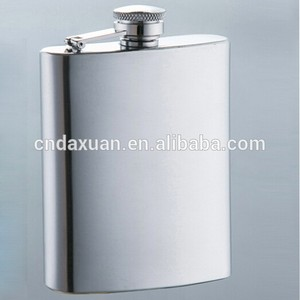 New Style Best-selling Plastic Stainless Steel Hip Flask