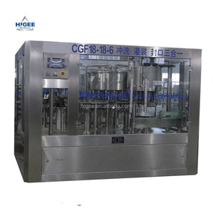 3 in 1 carbonated drink filling machine and digital control pump liquid filler