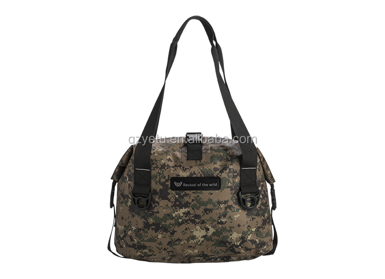 Polyester 600D Camouflage Waterproof Mini Sports Travelling Duffle Bag