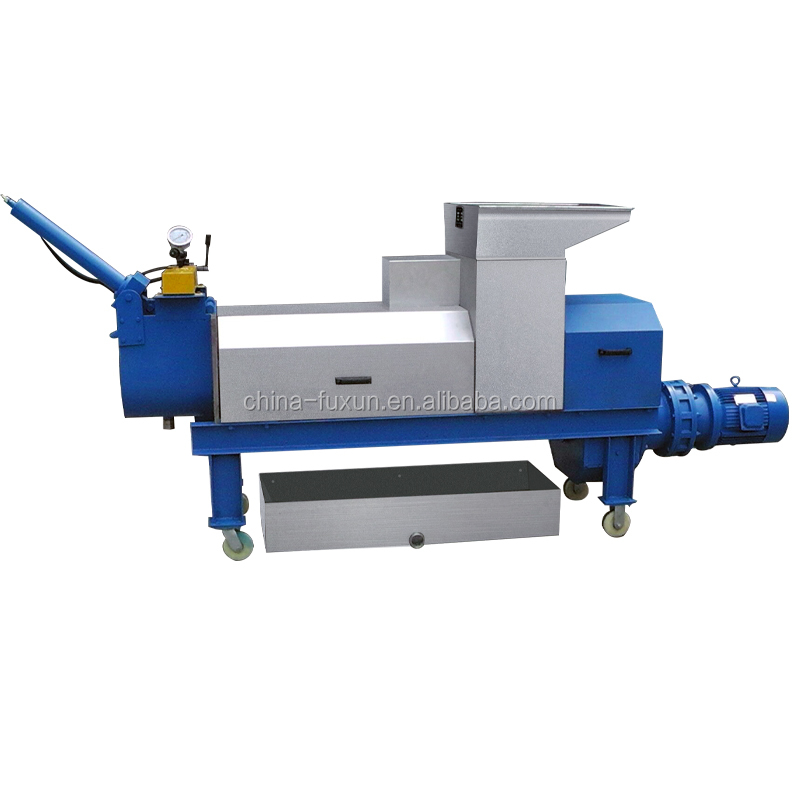 Algae screw press machine dehydrator for alga, seaweed extractor
