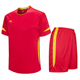 Wholesale Soccer Team Uniform/Full Set Soccer Jersey Kids