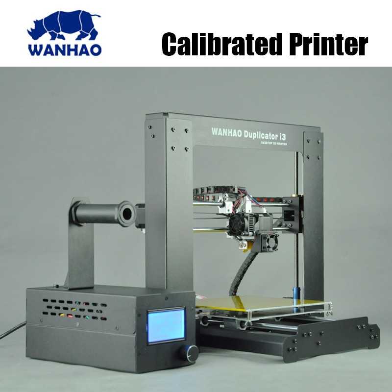 Wanhao 3d dual extrusora 3d uñas in china ABS PLA PVA caderas appliable