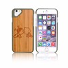 German Standard QC Imported Wood Anti-skid For Iphone6 Case