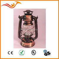 Hot sale decorative 15 LED hurricane lantern with lotus flower shape