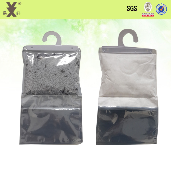 Large Capacity Odor Removal Anti Moisture Hanging Wardrobe Desiccant Bags