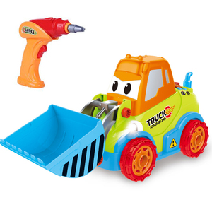 Take Apart Car Construction Toys for 3 -4 -5 Years Old Boys & Girls, STEM Toys with Sounds, Lights & Drill Tool, Build Your Own