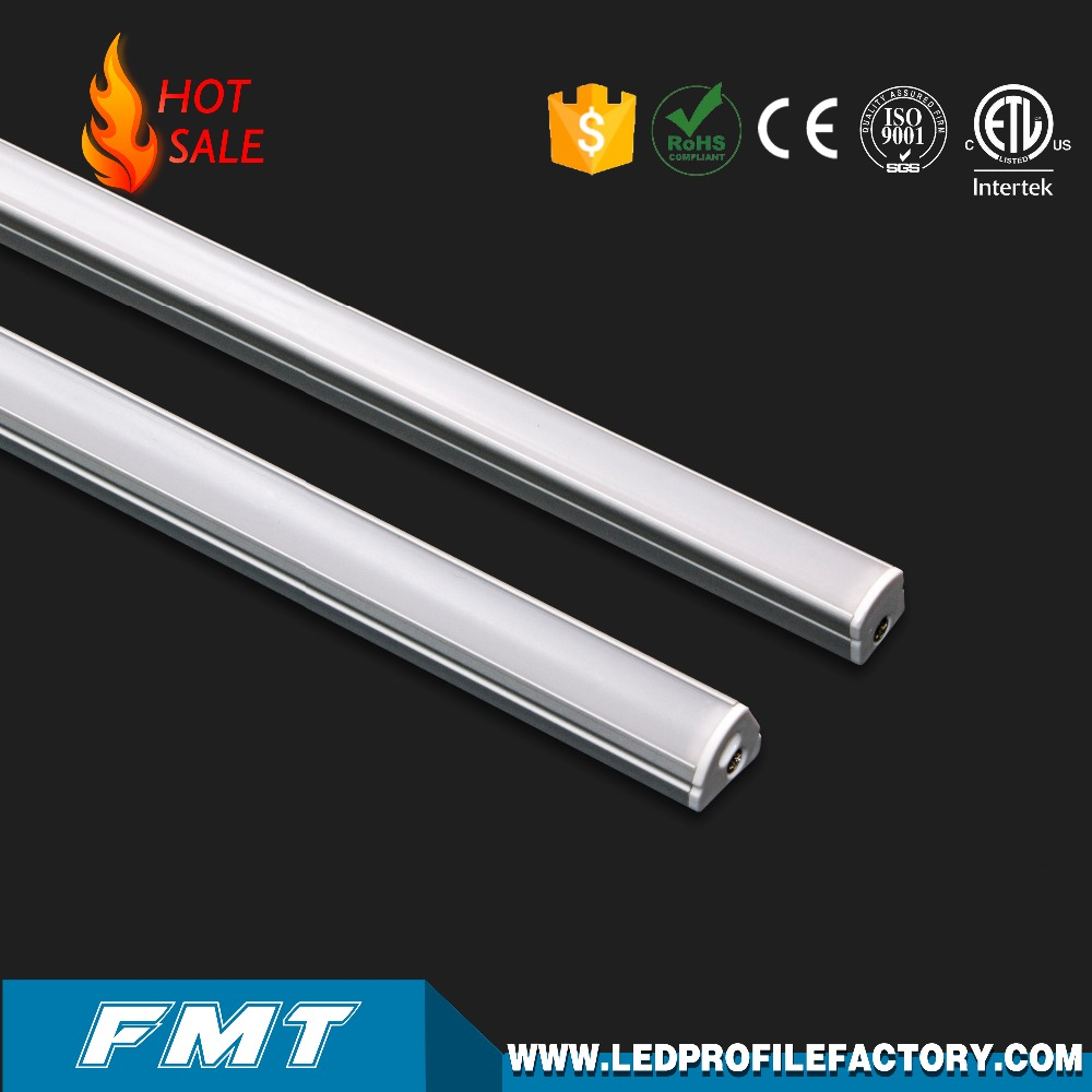 Led Linear Lighting Fixture Linkable Light Aluminium Housing Cove For Goods Shelf