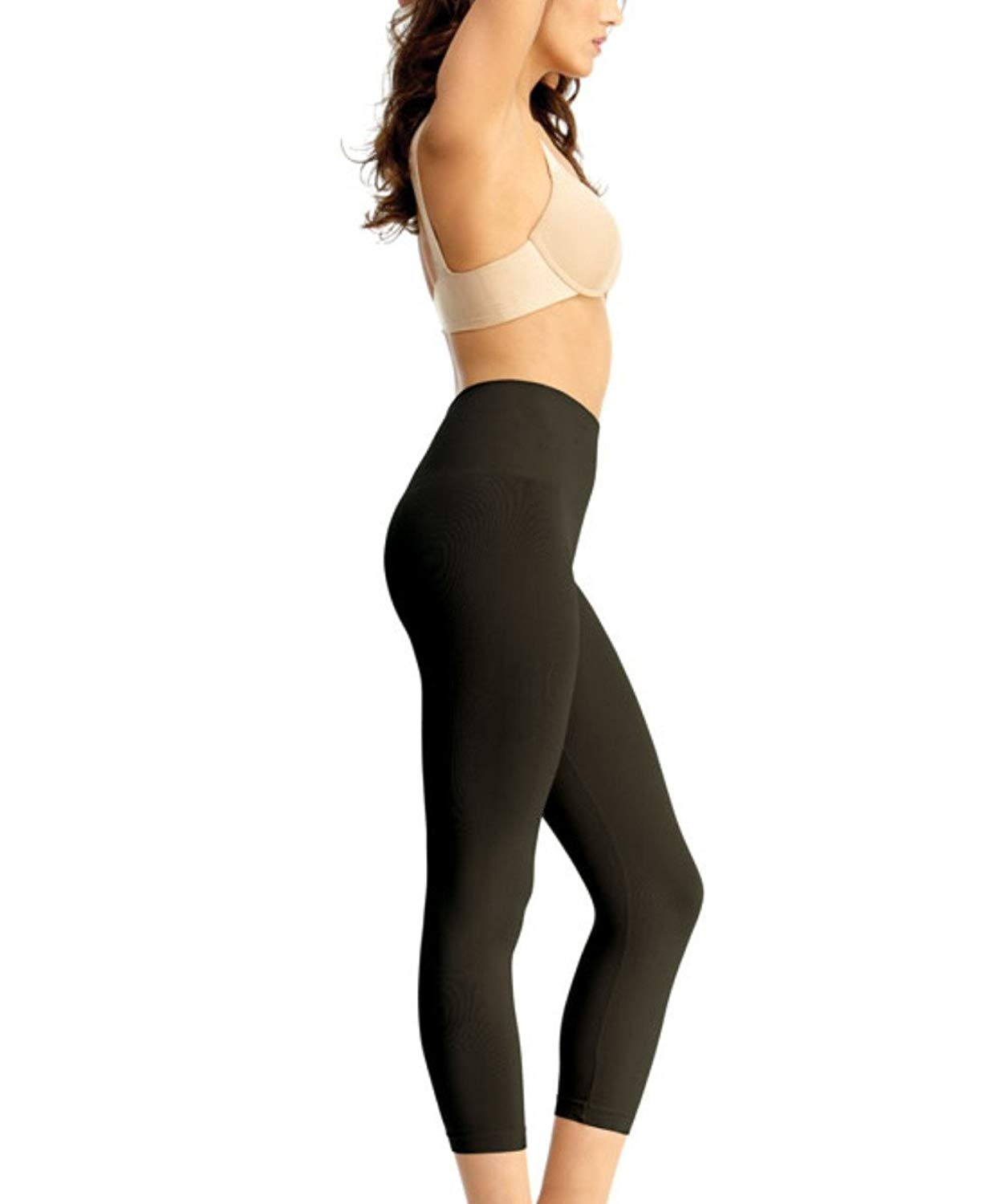 bcfe54a5d8 Get Quotations · SlimMe MeMoi High Waist Control Shapewear Leggings