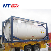 20ft Best price new condition iso bulk liquid tank container price
