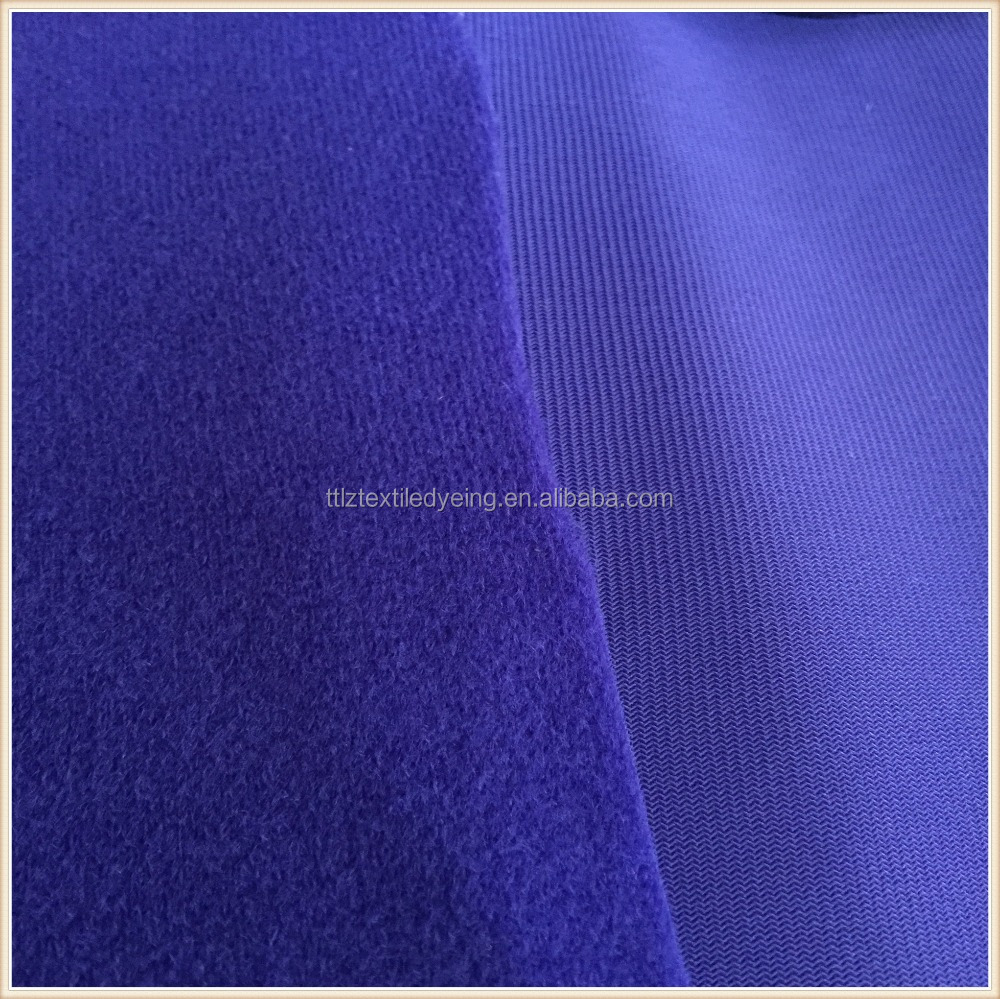100 polyester tricot knitted fabric,loop velvet/loop pile,make to order