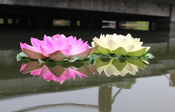 Wholesale Alibaba Fake Floating Lotus Flower Decoration Buy Lotus