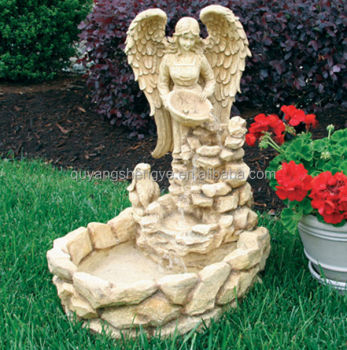 Outdoor Angel Garden Water Fountain Buy Garden Water Fountain