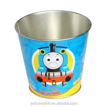 decorative Paint christmas tin buckets