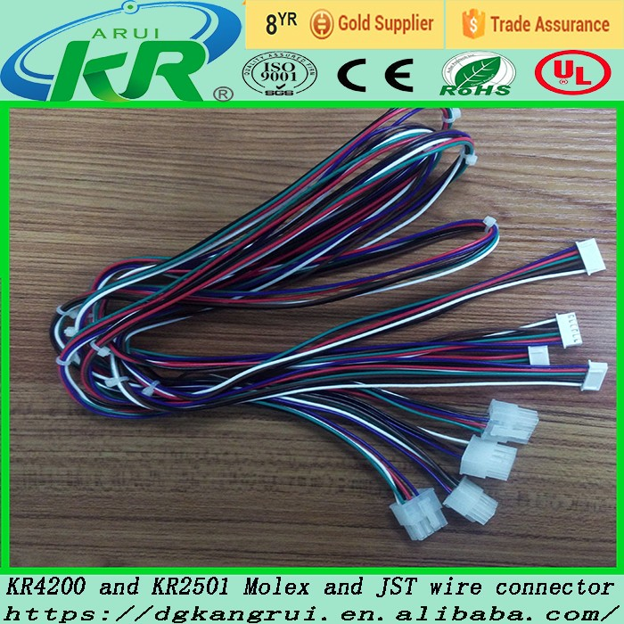 ul13068 28awg molex 1 25 wire to wire wiring harness connector ul13068 28awg molex 1 25 wire to wire wiring harness connector