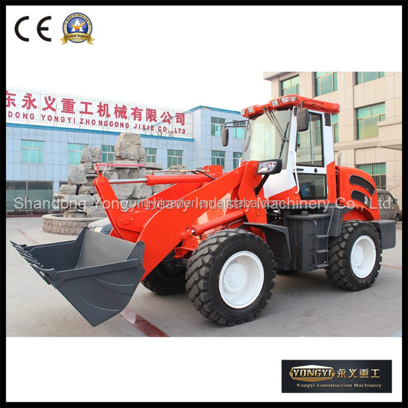 CE approved front loader zl918 with snow blade for sale