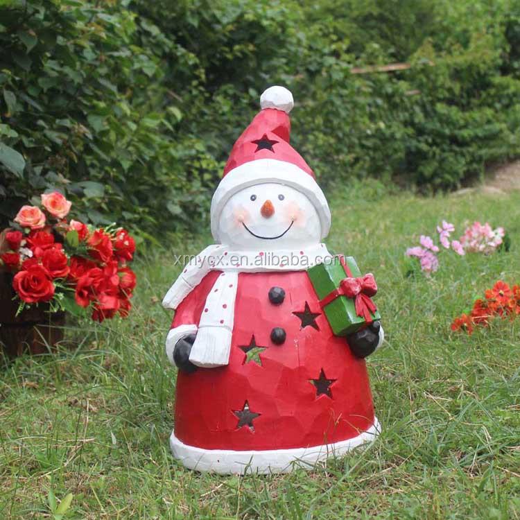 90cm H Fiberglass Life Size Santa Claus For Christmas Decoration ...