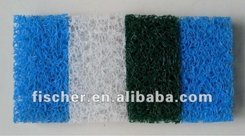 high quality durable aquarium filter mat for koi pond ,Japenese filter mat filter media