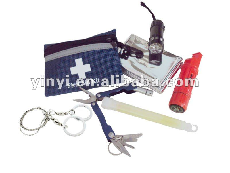 YYS12045 Outdoor survival kit for your emergency