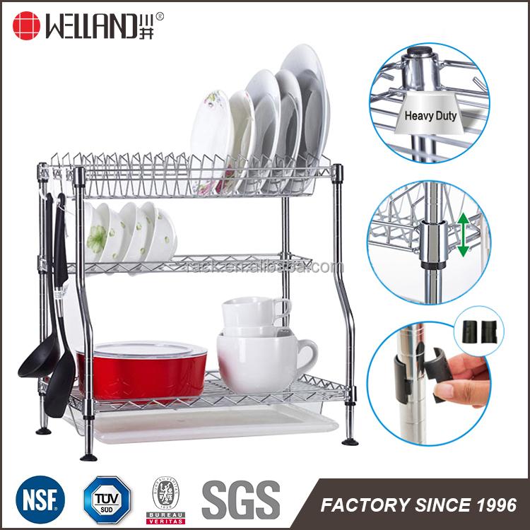 Patentado Diseño Ajustable Estante Para Platos de Cocina con ...