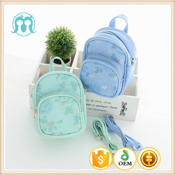 eb88b365e723 girls beautiful mini backpack kids school bags mint colour bags for children  daily bags usage