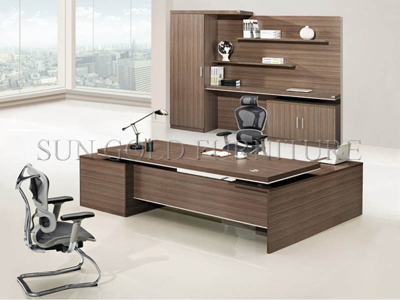 Modern Latest Office Furniture Wooden Office Desk Classic
