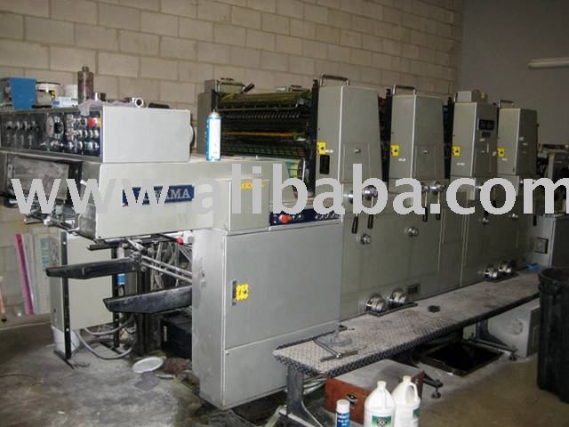 Used Offset Press, Paper cutters available at a sale price