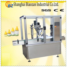 Childproof cap bottle filling machine for liquid/capper