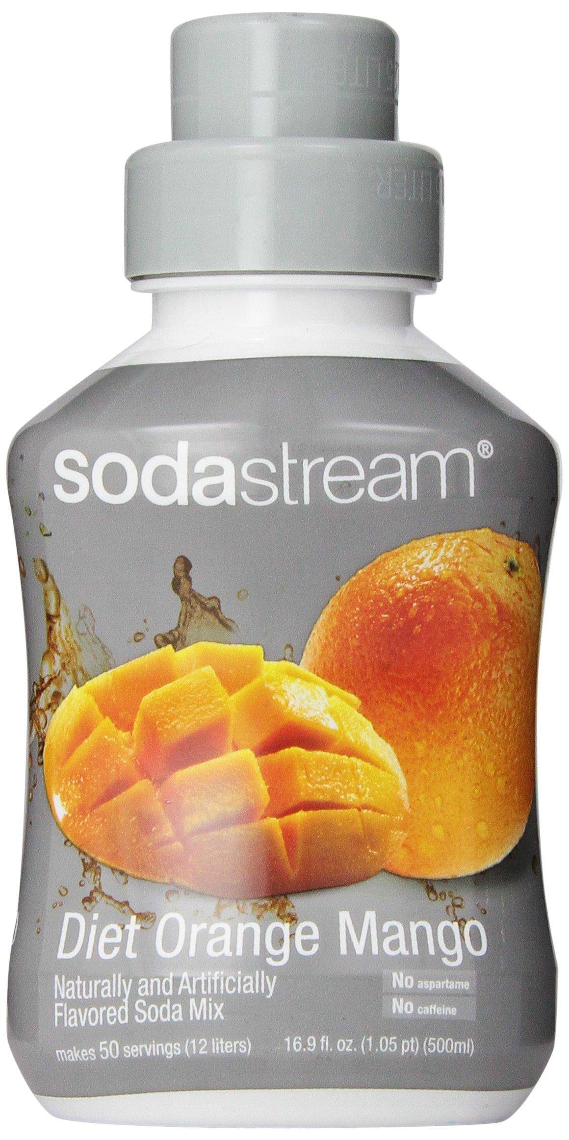 SodaStream Diet Orange Mango Syrup, 500ml