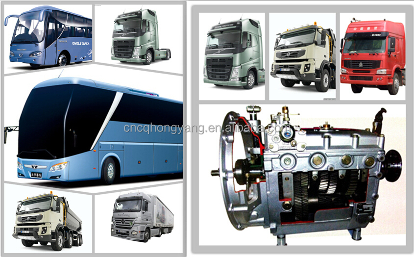 Commercial Bus /coach Parts 6 Speed Manual Transmission Pats S6 ...