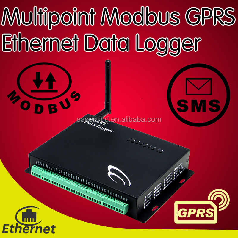 Wholesale Multipoint Temperature GPRS Ethernet Data Logger water ...