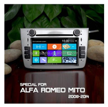 High quality Car audio for Alfa Romeo Mito Support original full functions and Menu
