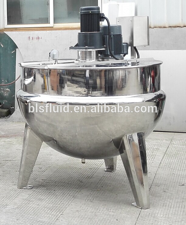 Jacket Kettle with agitator steam jacket kettle boiler