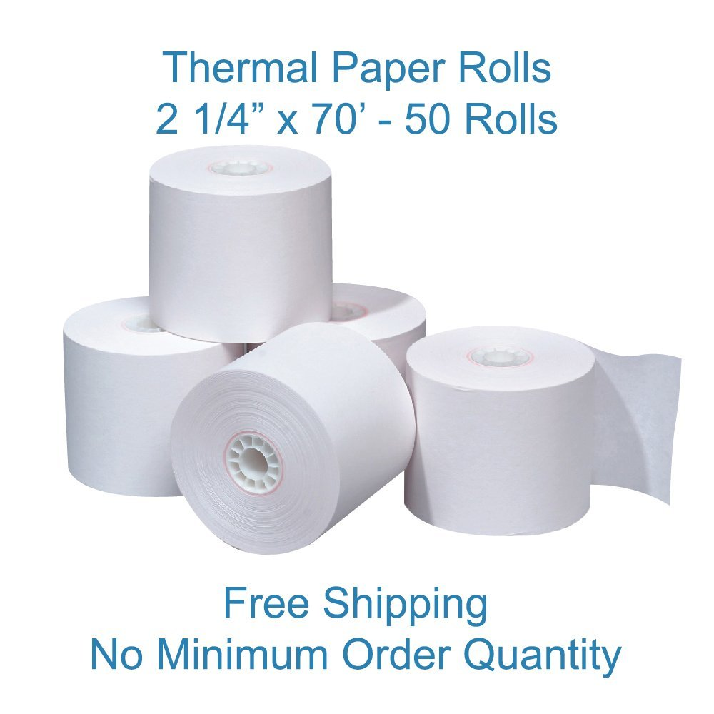 Buy (12 rolls) Thermal Paper Ingenico ICT250 ICT 220 IWL255 IWL250