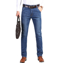 Euro mannen <span class=keywords><strong>Jeans</strong></span> Stretch Blauw Denim Business Slim Fit <span class=keywords><strong>Jeans</strong></span> maat 30 32 34 35 <span class=keywords><strong>36</strong></span> 38 Broek Jean voor mannen