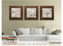 MODERN LIVING HOME WALL ART SCULPTURE RESIN RELIEF PAINTING