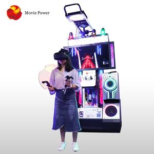 Movie Power Immersive Motion Vr Music Dancer Machine 9D Realidad Virtual Simulator Beat Saber
