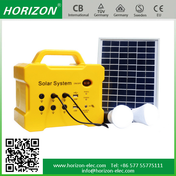 10W/18V Home Application Mini Solar <strong>System</strong> Best solar power <strong>system</strong> home kit Portable Led Lighting home solar light