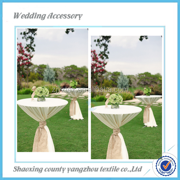 Great Stehtischhusse Banquet Catering Cocktail Table Cover Bistro Table Cloth  Wedding Table Cover Outdoor Bar Table Cover